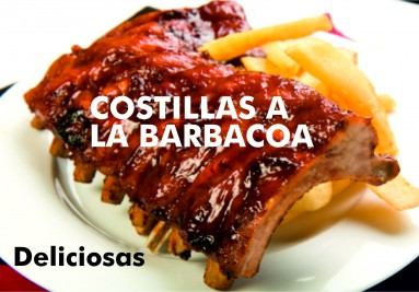 Costillas a la barbacoa